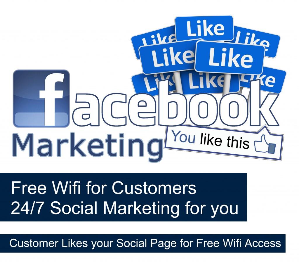 facebook marketing with ezywifi