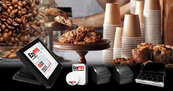 EzyPOS Point of Sale for Cafes and Takeaways