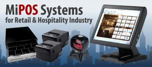 Combination of POS hardware, Software, Warranty and Support makes the total pos system cost