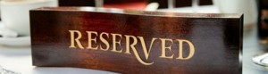 restaurant reservations bookings
