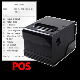 MiPOS Kitchen Order Dicket Printer