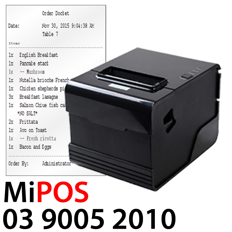 Complete Restaurant Pos System For Sale From Mipos Systems
