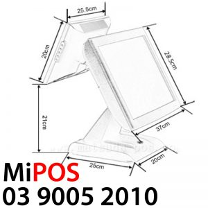 MiPOS - best pos system for cafes & restaurants with customer display