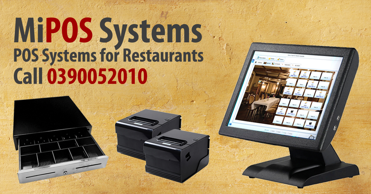 Restaurant POS System for your busy Restaurant and Takeaway