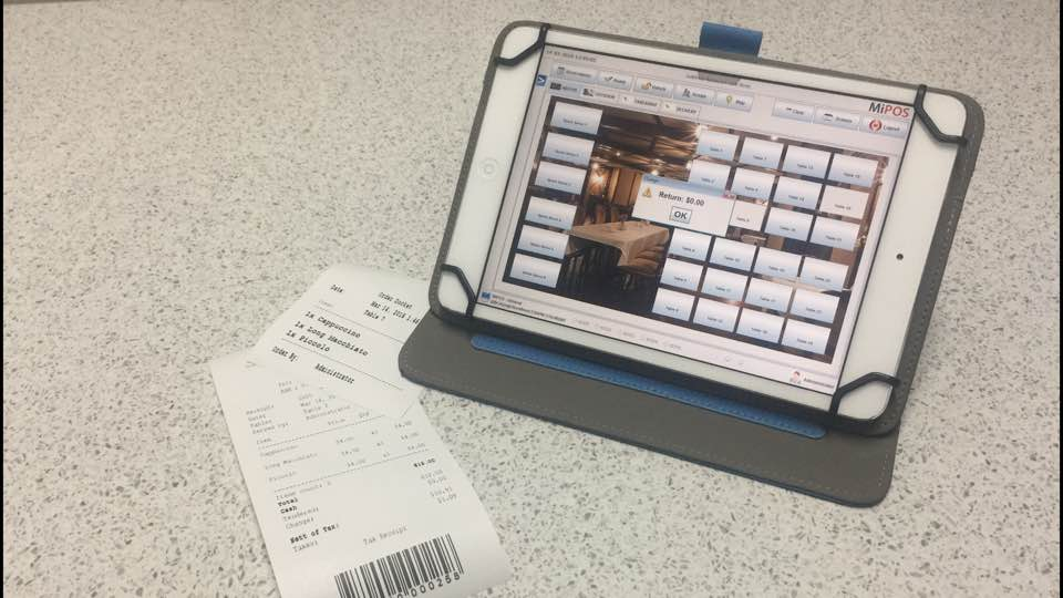 iPad POS System - Receipts and Dockets