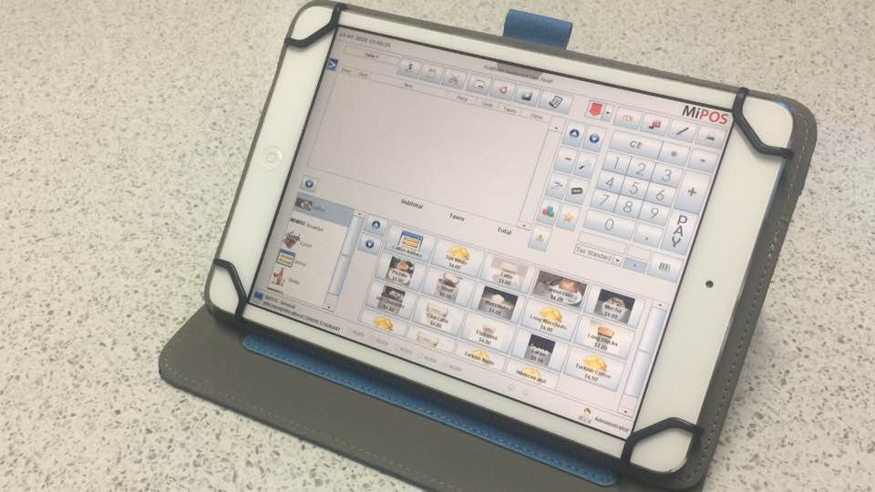iPad POS System - Sales Screen