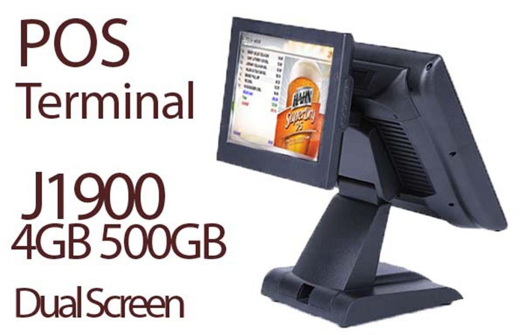 Dual Screen J1900 POS Terminal