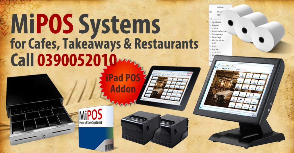 Cafe POS System for your busy Cafes and Takeaway