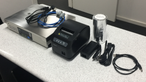 CAS PDII with 80mm Thermal Printer for Retail POS Integration