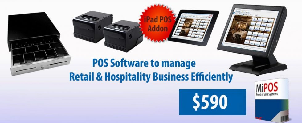 Pos System For Retail Shops Cafes Restaurants