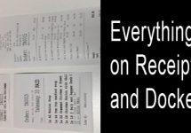 MiPOS Receipts and Dockets