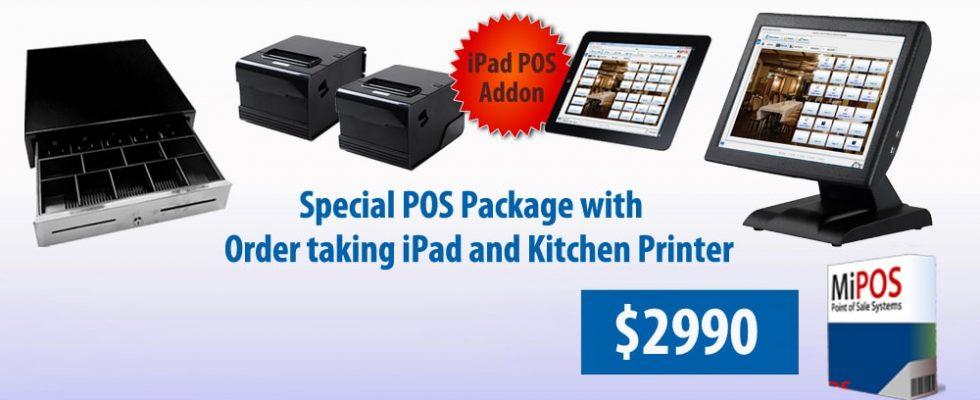 MiPOS Restaurant POS System Special Offer Nov 2018