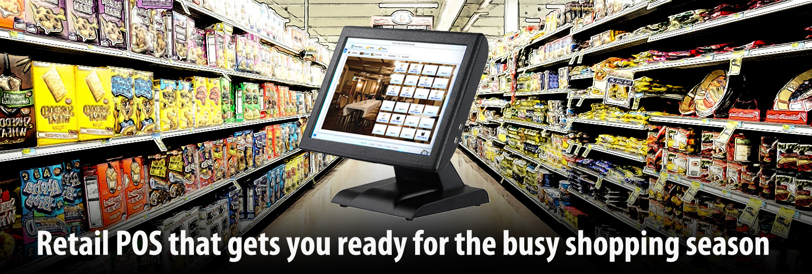 Retail POS that gets you ready for Busy Season