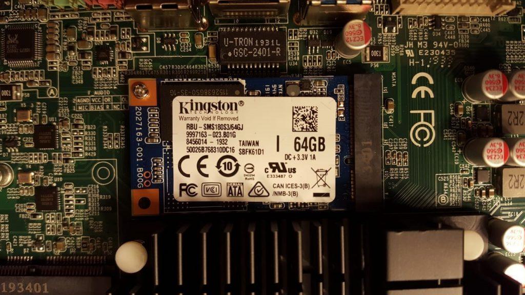 64GB SSD of J1900 POS Terminal